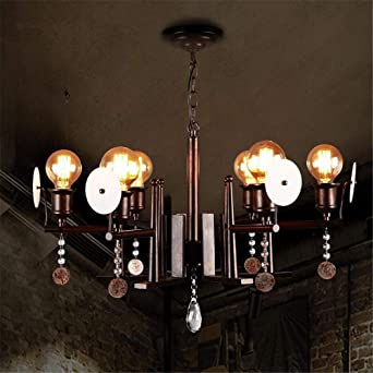 Lámparas Luces de Techo LOFT Industrial Vintage Bafle de ...