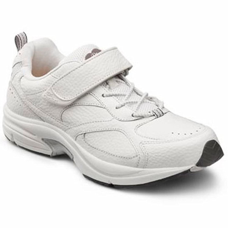 Dr. Comfort メンズ B00IOT4AJG 14.0 Wide (E/2E) White Lace US Men|ホワイト ホワイト 14.0 Wide (E/2E) White Lace US Men