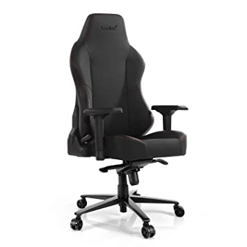 Silla de Gaming Silla de Carreras de Cuero Ajustable (Master-Carbon Black): Amazon.es: Hogar