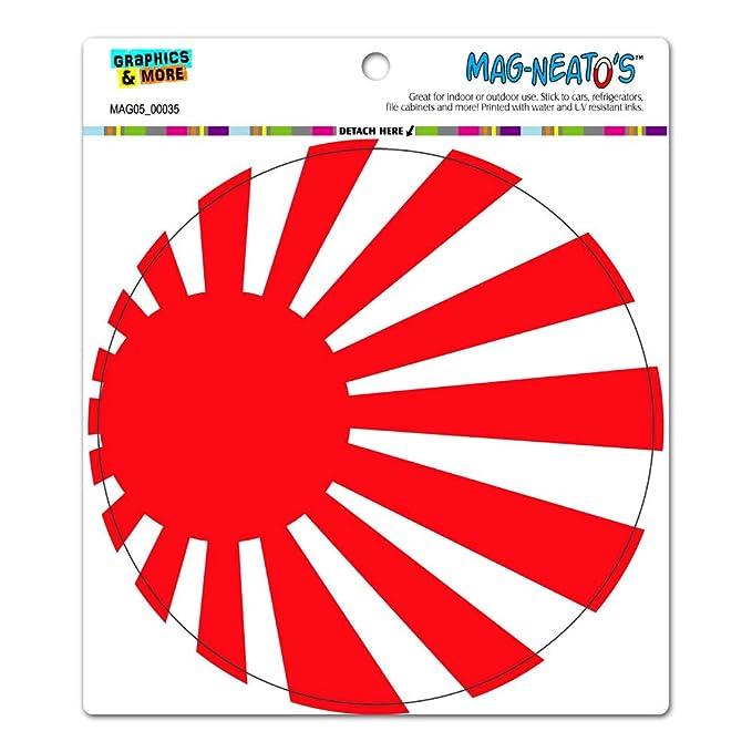 japan japanese flag rising sun circle mag neato s tm automotive