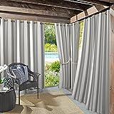 gazebo curtains amazon Sun Zero Valencia UV Protectant Indoor Outdoor Curtain Panel, 54