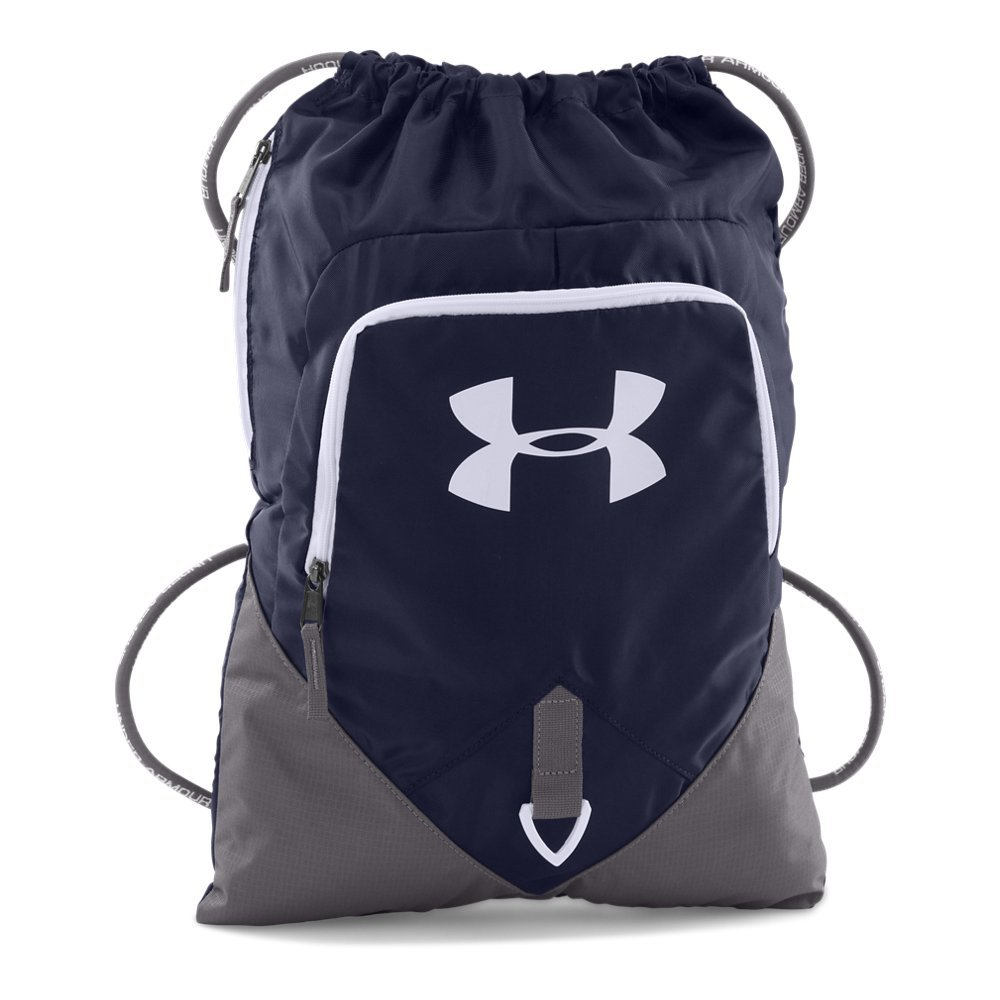 Under Armour 1261954  Undeniable Sackpack, Midnight Navy/Graphite, One Size
