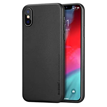 memumi Funda para iPhone XS MAX, Ultra Slim 0.3 mm PP Plástico Protectora Carcasa Compatible con iPhone XS MAX Case 6.5 Fundas [Anti-Rasguño y ...