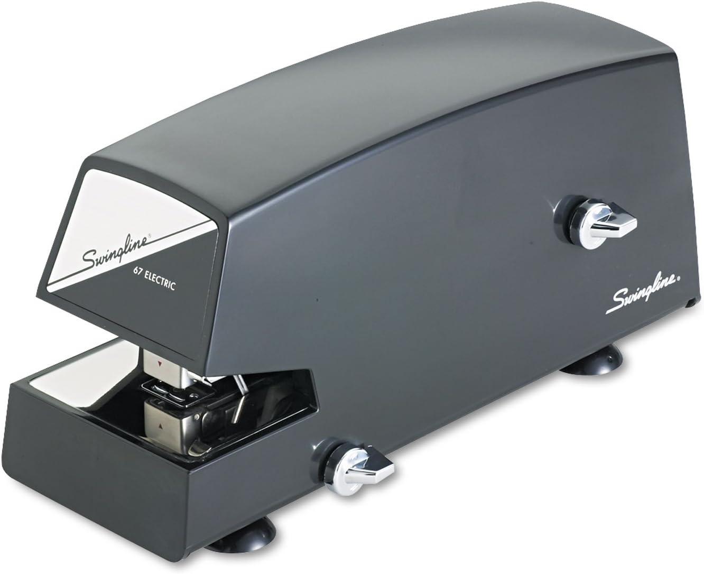 Swingline 06701 Commercial Electric Stapler Full Strip 20-Sheet Capacity Black