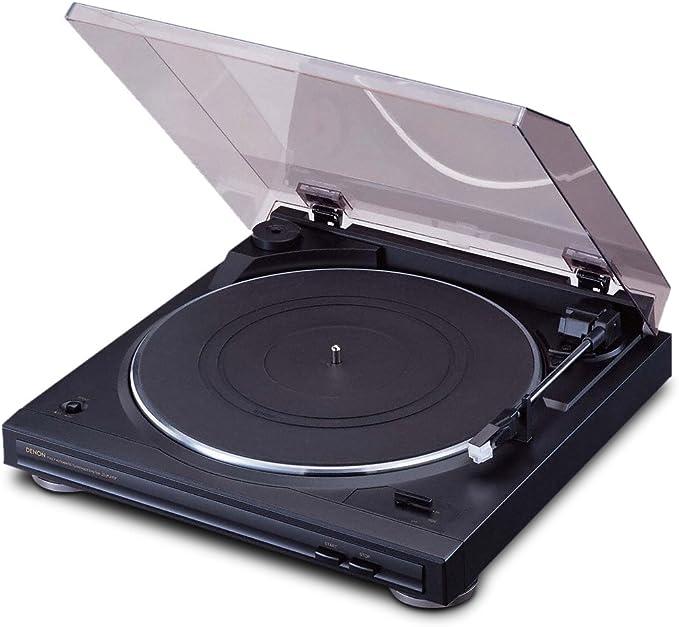 Denon DP-29F Turntable Black 96 x 365 x 360mm 1
