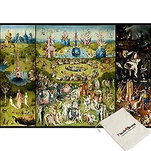 Bn Bien Garden Of Earthly Joy Hieronymus Bosch Puzzle Da 1000 Pezzi In Dotazione