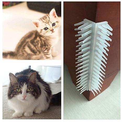 Somedays - Masajeador de Gatos para Esquina con Cinta Adhesiva de Doble Cara