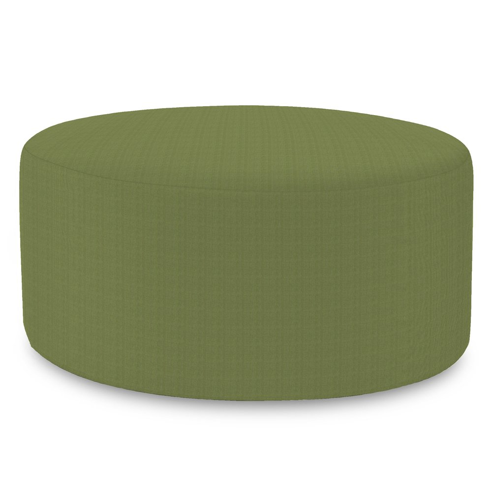 Howard Elliott QC132-299 Universal Patio Round Ottoman Cover, 36-Inch, Seascape Moss
