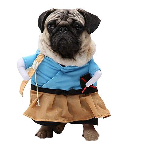 TUOTANG Suministros para Mascotas Cosplay Traje Ropa para Perros ...