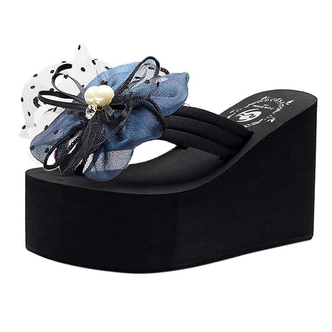 8a7f7549 Sandalias Mujer Zapatillas Para Perlas Felz Chicas Mujeres Señoras H2Y9DeWEI