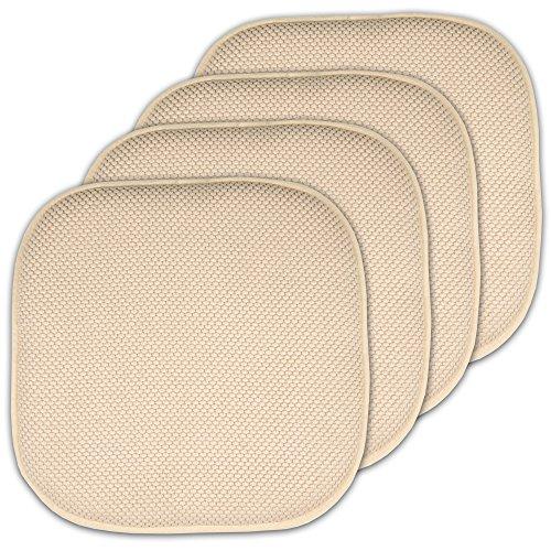 - 4 Pack Memory Foam Honeycomb Nonslip Back 16
