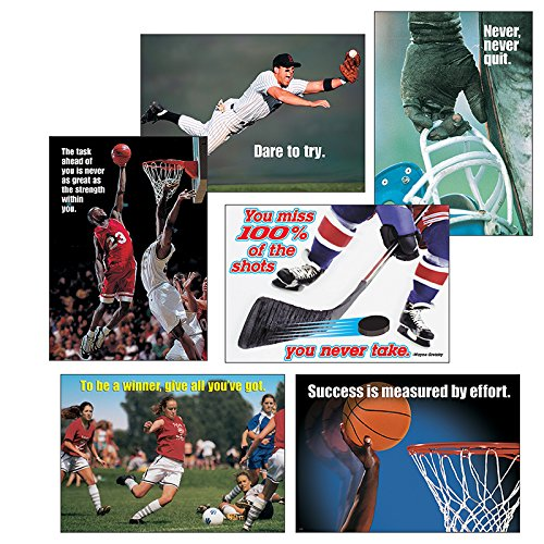 Trend Assorted amp quot Sportsamp quot Themed Motivational Prints