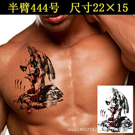 tzxdbh 3 Unids-Nuevo Tatuaje Pegatinas Impermeable Animal dragón ...