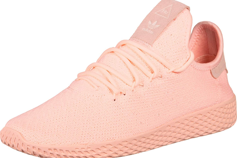 Adidas Pharrell Williams Tennis Hu Damen Turnschuhe Rosa Real