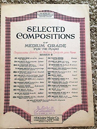 (ROSE FAY Mazurka Caprice ( SHEET MUSIC pristine condition!) 1908)