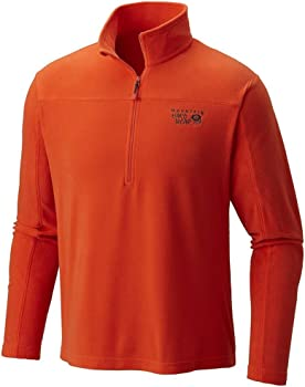 Mountain Hardwear Mens Microchill Zip T-Shirt