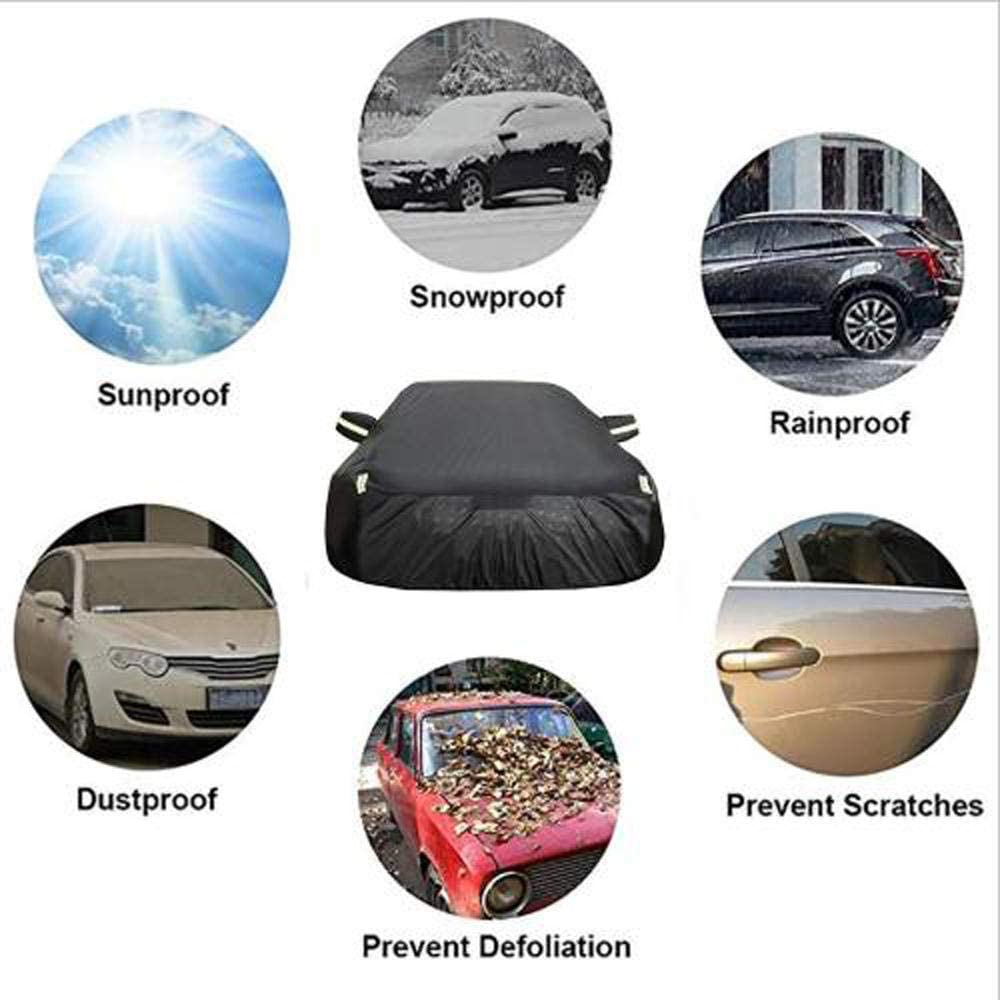Supports Customization Of Any Model Car Cover Compatible With Audi TT//Convertible//TTS//TT RS Waterproof Oxford Cloth Garage Reflective Tape Breathable Windshield Protection Car Cover Protect Car Paint