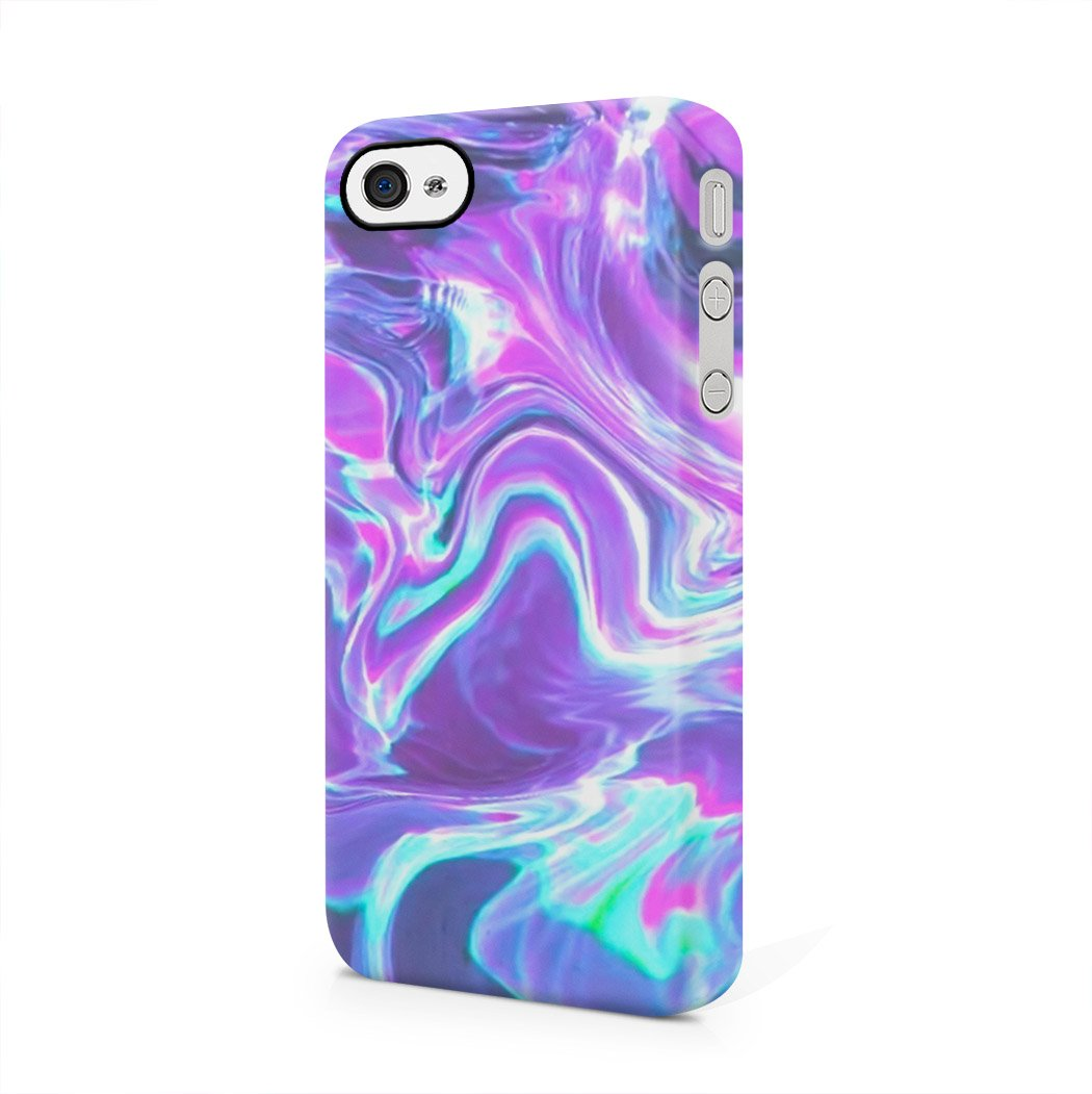 Agua holográficos Tie Dye Rainbow Colorful Color RAD Indie ...
