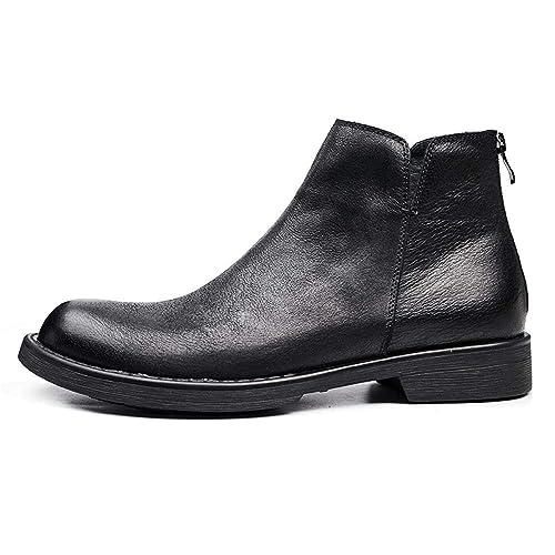 ce1290d0b29 Zapatos De Cuero Negros para Hombre