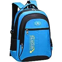 SellerFun Unisex Child Girl Boy Nylon Lightweight Primary Junior School Bookbag Hiking Backpack