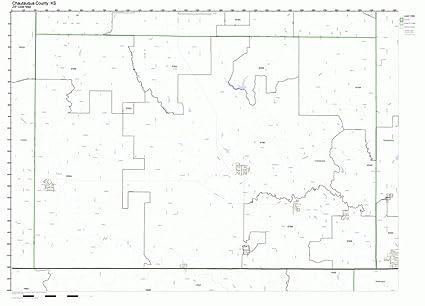 Amazon.com: Chautauqua County, Kansas KS ZIP Code Map Not ...