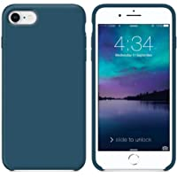 SURPHY Cover iPhone 8, Cover iPhone 7, Custodia iPhone 8 7 Silicone Slim Cover Antiurto con Morbida Microfibra Fodera, Ultra Sottile Cover Case per Apple iPhone 8 iPhone 7 4.7 Pollici