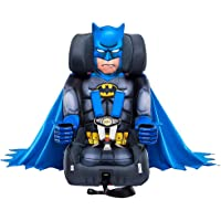 KidsEmbrace Batman Booster Car Seat, DC Comics Combination Seat, 5 Point Harness with Cape, Blue, 71900BAT