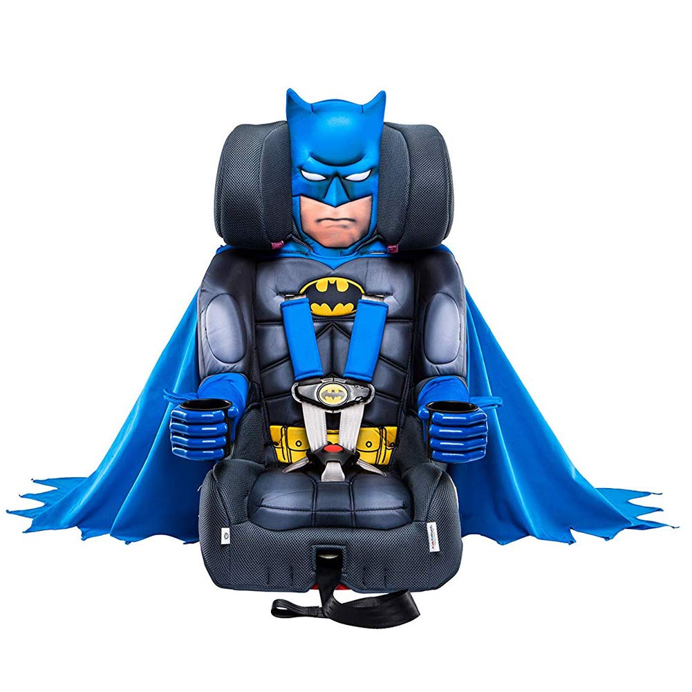 KidsEmbrace Batman Booster Car Seat DC Comics Combination 5 Point Harness With Cape