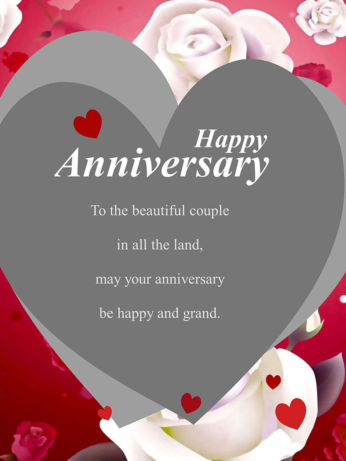 Personalized Happy Anniversary Picture Photo Greeting Amazon