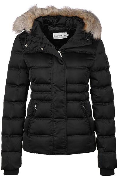 variedades anchas comprar real vendido en todo el mundo Calvin Klein Jeans J20J211541 Short Down Abrigos Y Chaquetas ...
