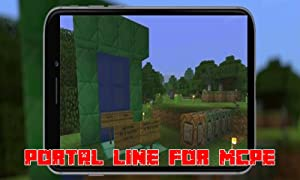 Mods : Portal Line for MCPE from Portal Lines Inc.