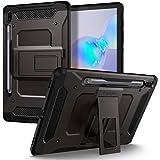 Spigen Tough Armor Pro Designed for Galaxy Tab S6 Case with S Pen Holder (2019) - Gunmetal