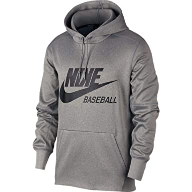 e2e0abfc6 Amazon.com: Nike Men's Baseball Pullover Hoodie: Clothing