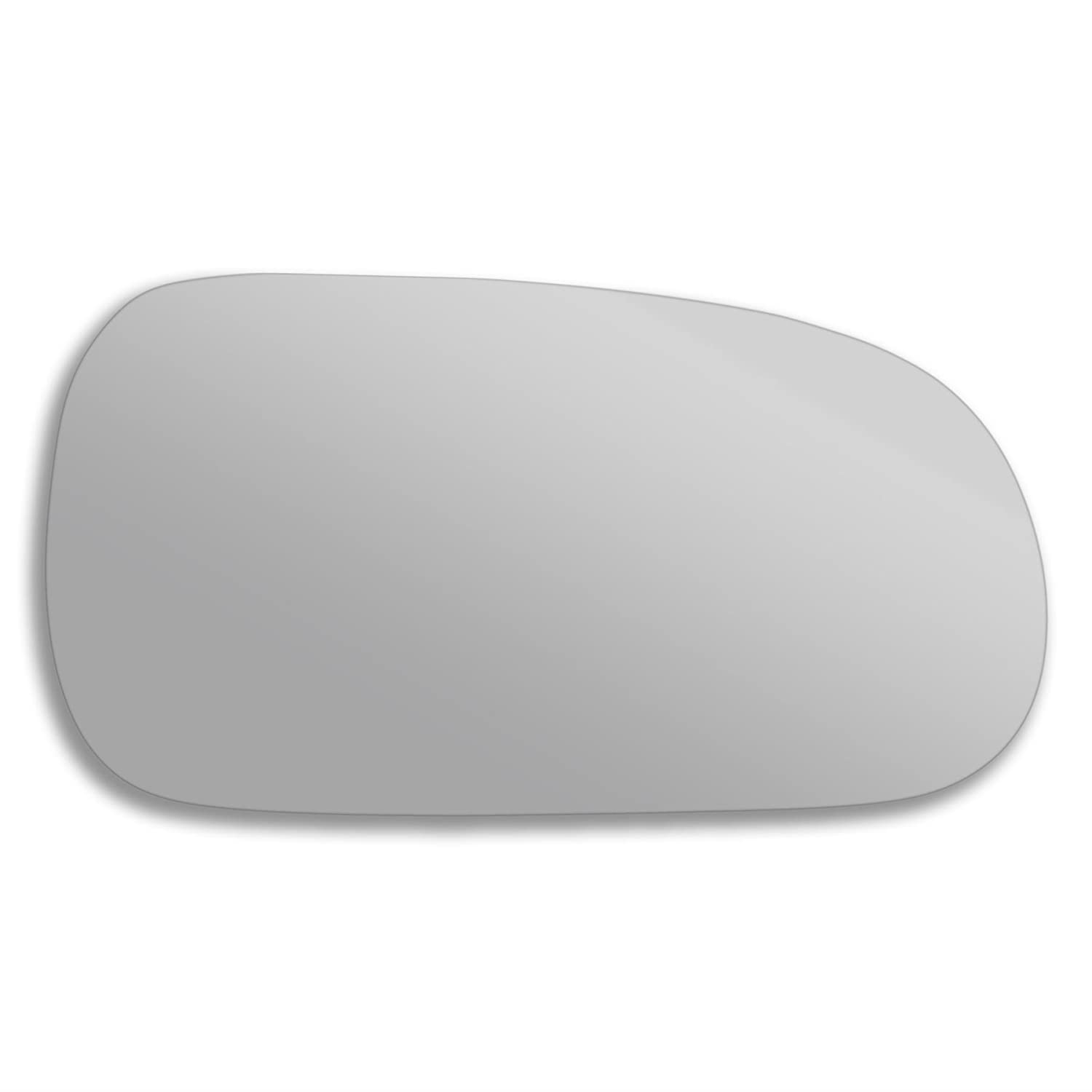 Ro600 Right side wing mirror glass Real glass,door stick on mirror replacement Driver side quick fix silver #Ro60-93//98-R/_c