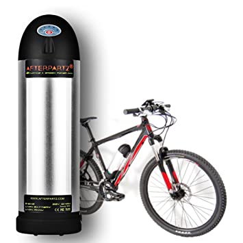 Bicicleta eléctrica desmontable batería 36V 10Ah e-bike cargador ...