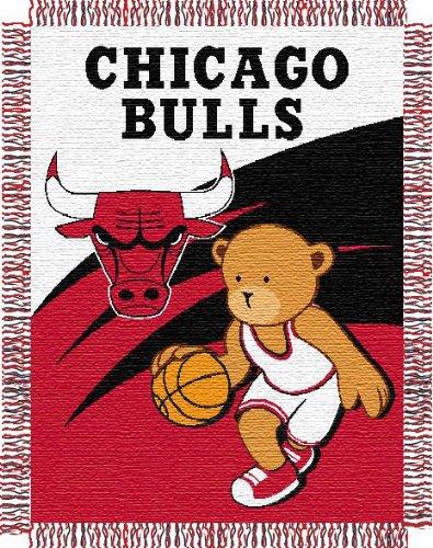 NBA Chicago Bulls Baby Blanket (Northwest Chicago Bulls Acrylic)