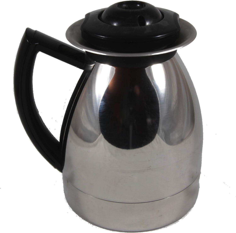 Krups Aroma Control 10 taza de repuesto acero inoxidable jarra 197 198 199 229: Amazon.es: Hogar