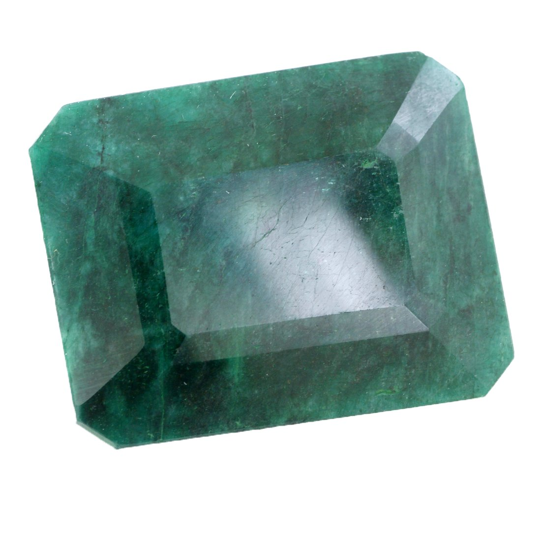 Skyjewels 440 Cts Emerald Faceted Green Emerald (Panna) Loose Certified Gemstone