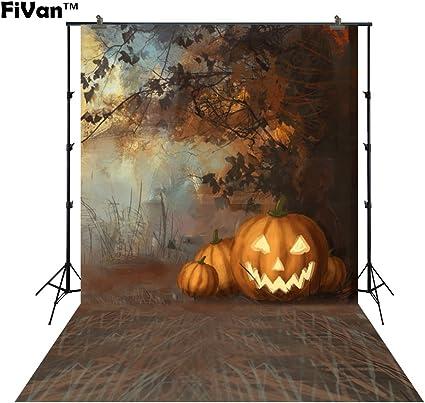 Hintergrund Mit Ground Für Halloween Pary Home Oder Kamera