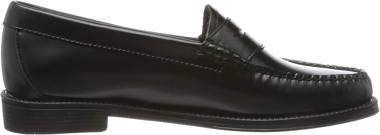 G.H. Bass & Co. Penny voor dames Loafers Zwart Zwart Leer 000