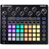 Novation Circuit Groove Box with Sample Import: 2-Part Synth, 4-Part Drum Machine and Sequencer, Black (NOVSYNTH04)