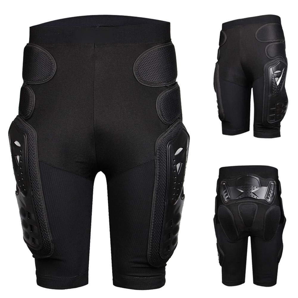 iBaste Armor Pants Herren Protective Shorts Torwarthose Radhose Shorts Protektorshort