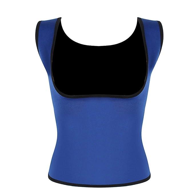 af8d4ed148 Desirca Plus Size Neoprene Sweat Sauna Hot Body Shapers Vest Waist Trainer  Slimming Vest Shapewear Weight