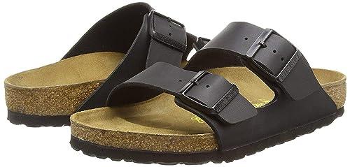 super popular c47d1 5770b Birkenstock, Pantofole Uomo, Nero (Nero), 42 EU: Amazon.it ...