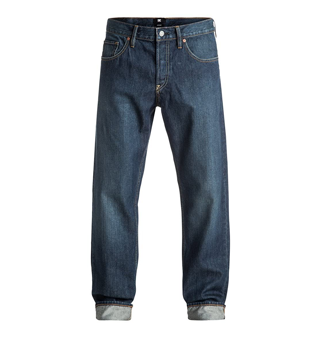 DC Schuhes Worker Roomy Stone Wash - Roomy Fit Jeans für Männer EDYDP03296