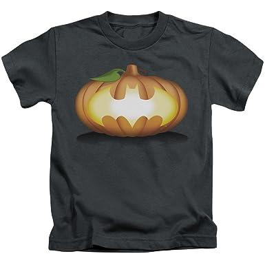 68b3de30 Amazon.com: Batman DC Comics Halloween Bat Pumpkin Logo Little Boys ...