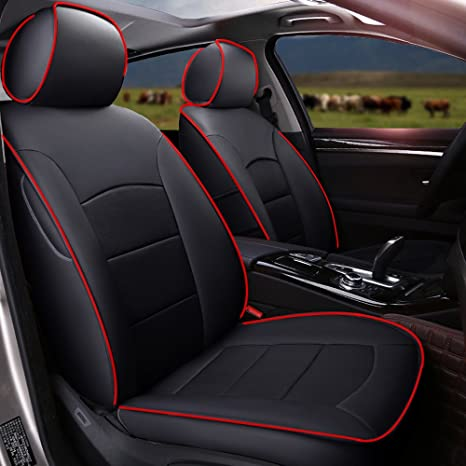 Car seat covers fit Mercedes A Class black  leatherette full set