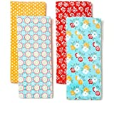 #7: The Pioneer Woman Spring Floral Kitchen Towel Set, 4pk, Print