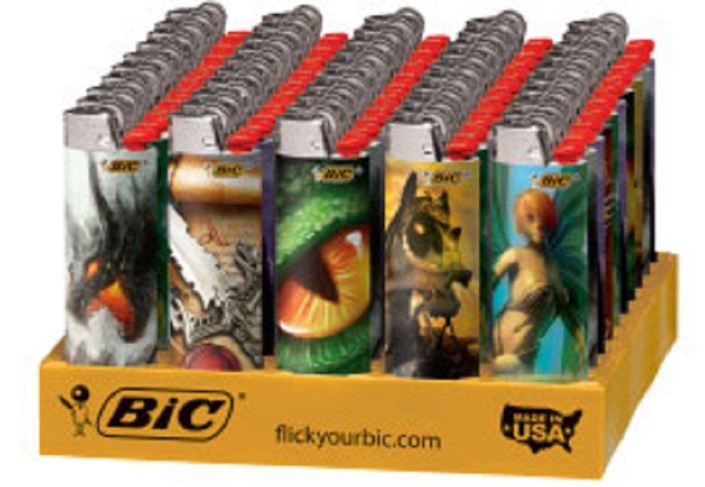 BIC Lighter 50 Ct Tray - Supernatural Fantasy