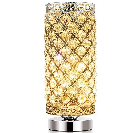 XBDBD Lámpara De Mesa De Cristal Lámpara De Escritorio Moderna Del ...